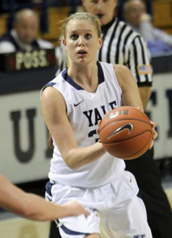 Janna Graf. Photo via Yale Sports Publicity.