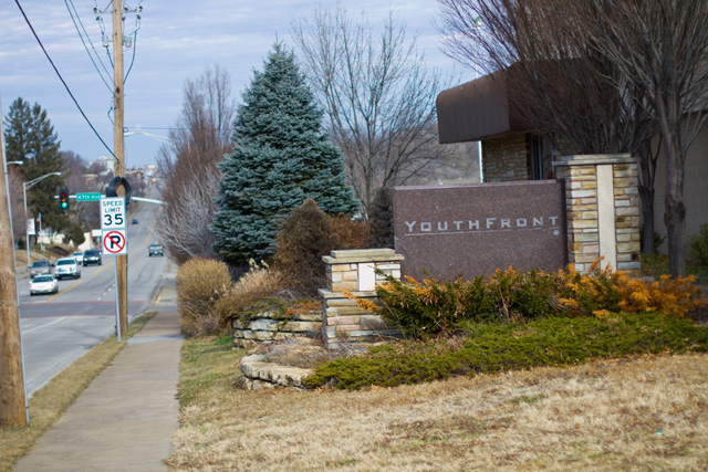 The Youthfront building on Rainbow Boulevard will be demolished to make way for Woodside Village.