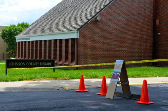The Cedar Roe Library branch is temporarily closed this week due to electrical damage from flooding. The town hall meeting will focus on its long-range future.