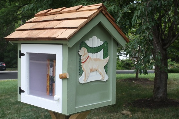 The newest Little Free Library...that we know of.