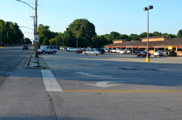The Ranch Mart North parking lot will see more green space and a sidewalk along Mission Road.