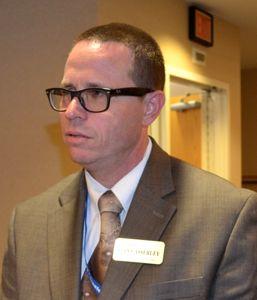 Johnson County Library Director Sean Casserley