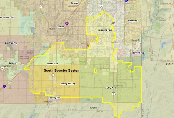 """WaterOne is asking residents in its """"South Booster"""" area to follow a voluntary watering schedule."""