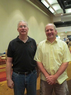 Alan Hierseman (left) and Doug Fjare.