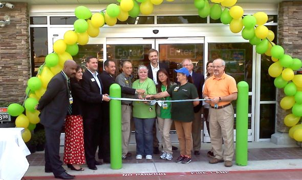 The grand opening drew several area mayors and other office holders.