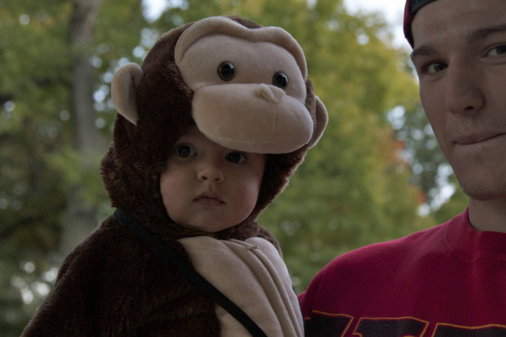 Monkey costumes really are the best. There's just no getting around it.