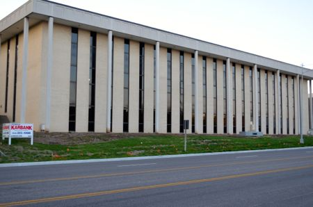 This is what the 2000 Shawnee Mission Parkway building looked like before the renovation started.