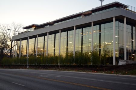 The Karbank building at 2000 Shawnee Mission Parkway has undergone significant renovation over the last several months.