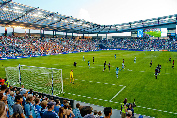 It doesn't look like SM East and Rockhurst will be facing off at Sporting Park anytime soon. Photo via Wikipedia.