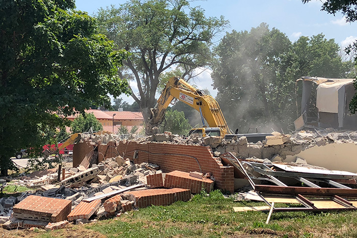 Mission Trails demolition