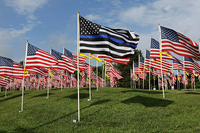 Merriam Kansas Flags 4 Freedom
