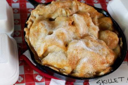 Charisse Golden apple pie