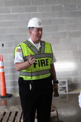 Fire chief John Mattox