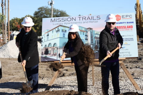 Mission Trails groundbreaking