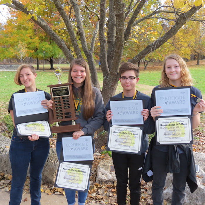 Kansas State Eco-Meet Final Competition 2018