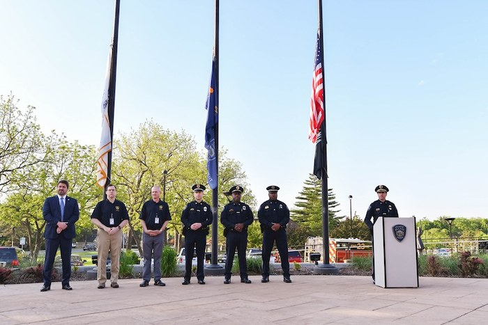 Briefly Noted Local Law Enforcement Commemorate National Peace