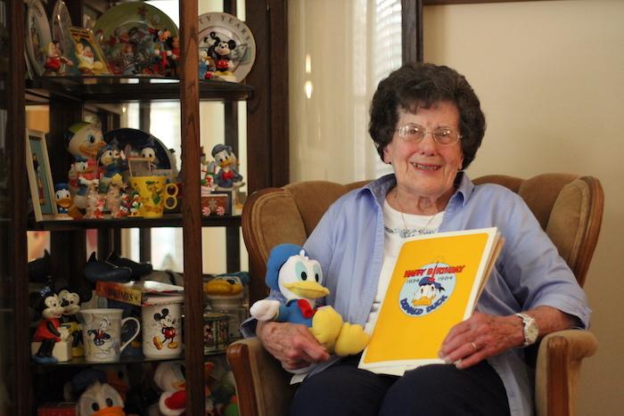 Betty Calcara Donald Duck