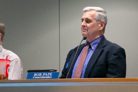 Merriam Councilmember Bob Pape