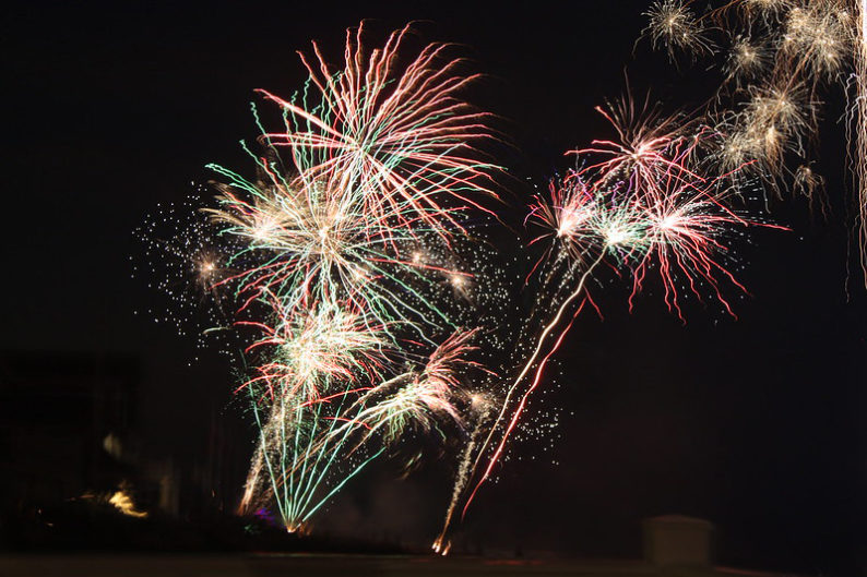 Bishop Miege fireworks