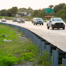 Johnson County highway litter