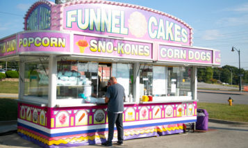 Funnel cakes Shawnee Mission