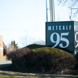 95 Metcalf South sign