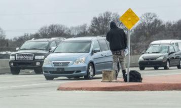 Merriam panhandling