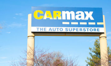 CarMax sign Merriam