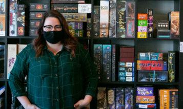 Madeline Davis Cardboard Corner co-owner