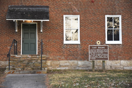 Shawnee Indian Mission East building