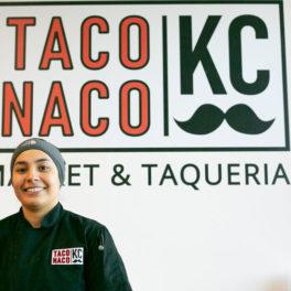 Fernanda Reyes Gonzalez at Taco Naco KC