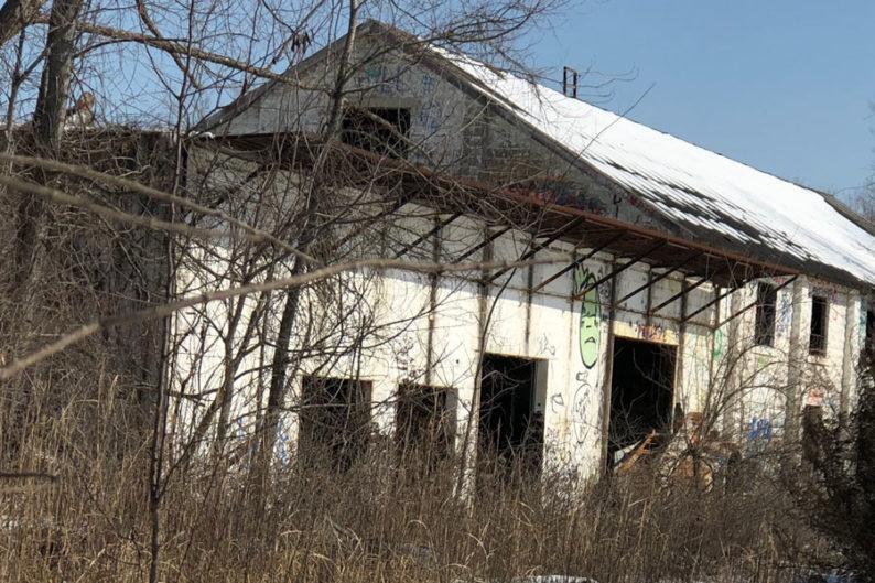 Overland Park abandoned warehouse
