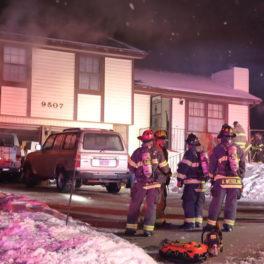 Merriam house fire
