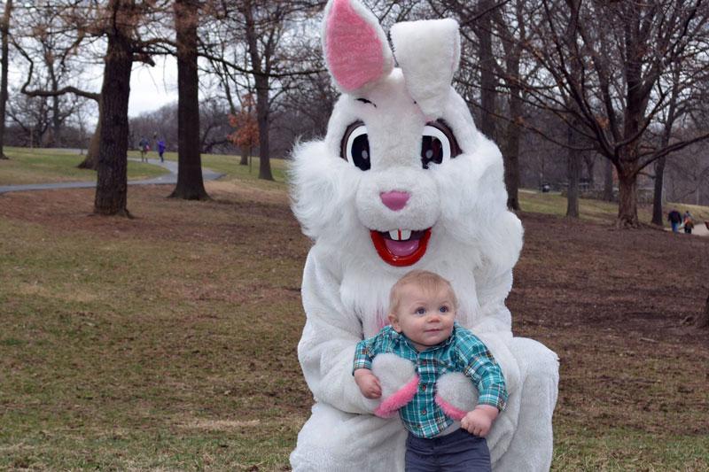 Easter egg hunts Johnson County