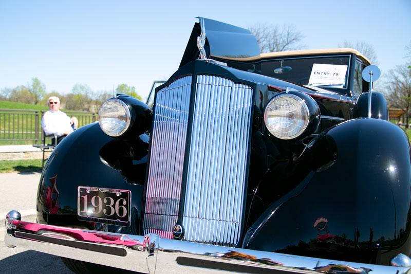 Bob Wollenman's 1936 Packard