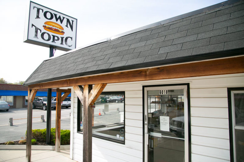 Town Topic building in Mission