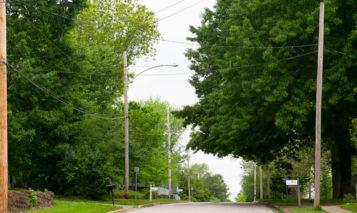 Merriam street lights