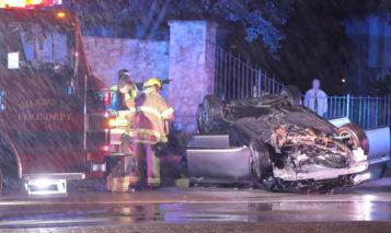 Shawnee rollover crash