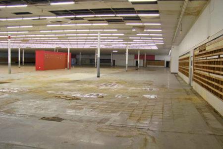 Kmart interior deterioration