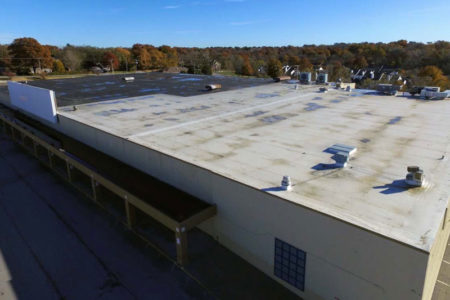 Kmart roof deterioration