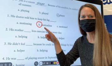 Marie Hooker, 2021 Kansas PTA Outstanding Educator of the Year