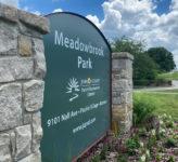 Meadowbrook Park sign