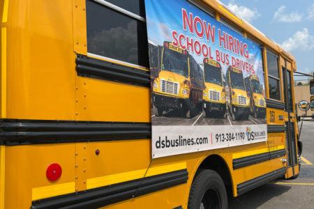 DS Bus Lines recruitment efforts