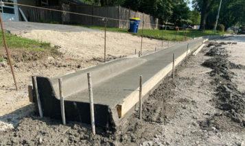 Reinhardt Drive reconstruction project