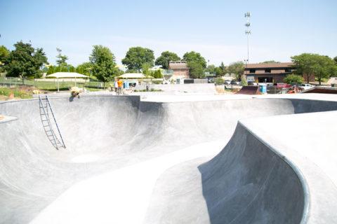 Harmon Park skate park Prairie Village