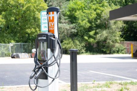 PV public works charging station