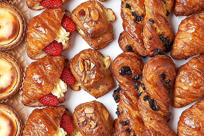 Paris Baguette pastries