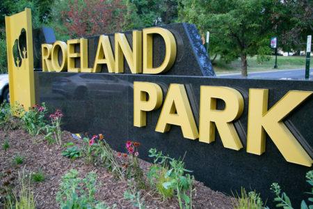 Roeland Park sign