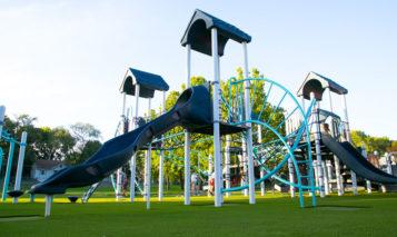 Roesland new playground