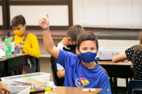 Johnson County schools masks